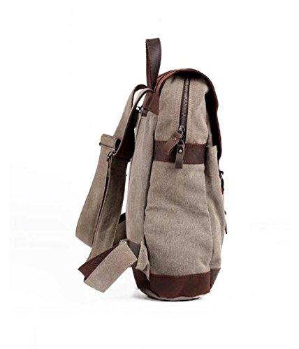 Casual Zaino Shoulder Business Canvas Uomo Bag Figureii 1a8nHnfq