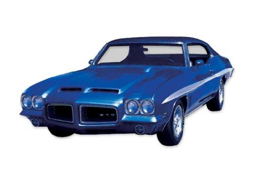 - 1972 Pontiac Lemans and GTO 9-Stripes Decals & Stripes Kit - White