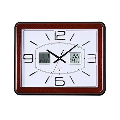 SEEKSUNG Relojes de Pared silenciosa para no marcando aparatos de relojería de la Sala Dormitorio Mudo Creativo de Barrido...