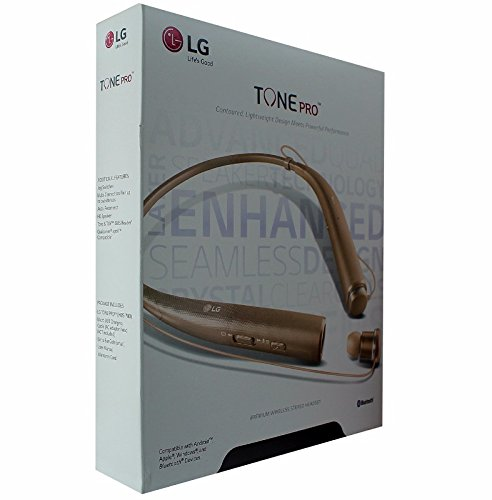 LG TONE Pro BT Headset Gld - Gold Headset Bluetooth