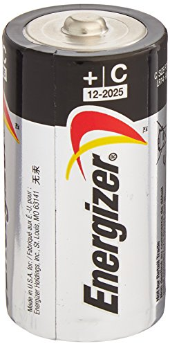 ENERGIZER E93 Max ALKALINE C BATTERY Made in USA Exp. 12-202