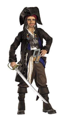 Jack Costume Captain Sparrow Kids For (Premium Kids Captain Jack Sparrow)