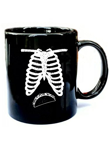 Maternity Funny Halloween Couples - Funny Gift Black 11oz Ceramic Coffee Mug -