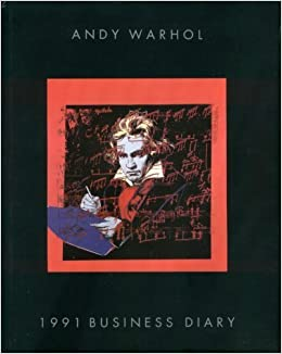 andy warhol 1991 business diary