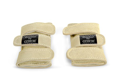 Gibson Athletic Wristeez (Pair), Sand, Small ()