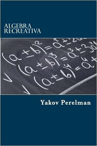 algebra recreativa yakov perelman
