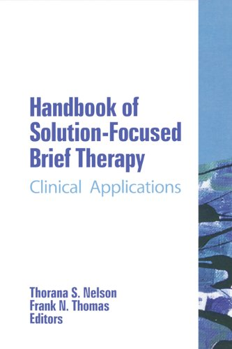 Download Handbook of Solution-Focused Brief Therapy: Clinical Applications (The Haworth Handbook Series in Psychotherapy) Pdf