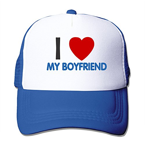 Speciality Apparel (I Love My Boyfriend Mesh Back Baseball Hat Trucker)