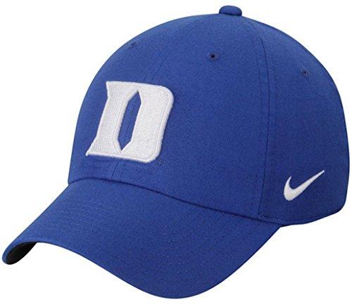 NCAA College Nike Heritage 86 Authentic Adjustable Performance Hat (One Size, Duke Blue Devils- (Devils Adjustable Hat)