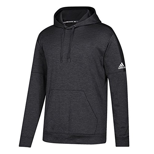 (adidas Youth Team Issue Pullover Hoodie Black M)