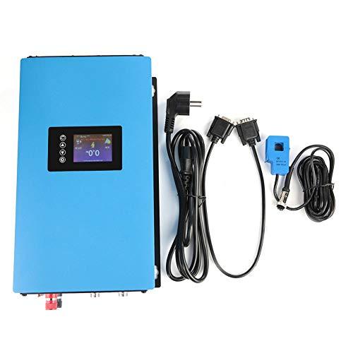 Solar Wechselrichter, 110/220V EU Stecker 1000W/2000W Solar Power Grid Tie Wechselrichter mit Limiter für Heimkinos, elektrische Schleifscheiben(#01)