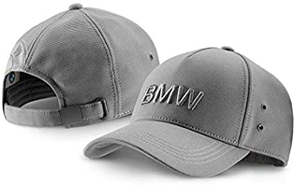 Gorra de BMW con logotipo de color gris: Amazon.es: Coche y moto