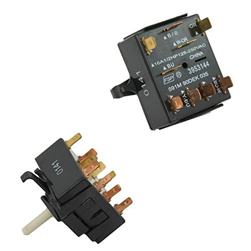 (Whirlpool Part Number 3953144: SWITCH-CYC)