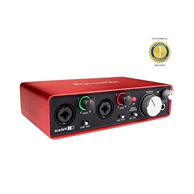 Focusrite Scarlett 2i2 Second Generation (2nd Gen) 2-in, 2-out USB Audio Interface from Focusrite