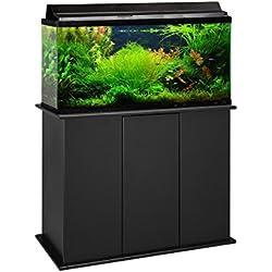 Aquatic Fundamentals 36501-01-AMZ Upright Aquarium Stand, 50-65 gal, Black