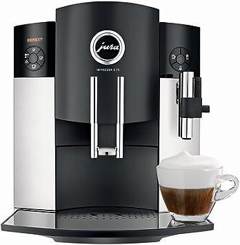 Jura Impressa C75 Independiente Totalmente automática Máquina espresso 1.9L Negro, Plata - Cafetera (
