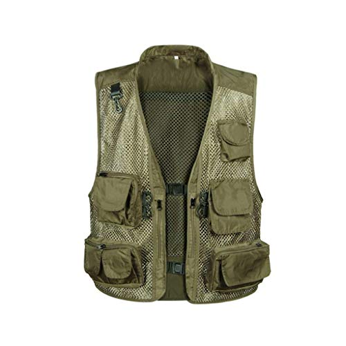 Nne Chaleco Lanceyy Chaleco Múltiple Chaleco Sin Chaleco Chaleco Mangas Simple Verde Gilet Chaleco Estilo Chaleco Chaleco Hombres v47rUvqx