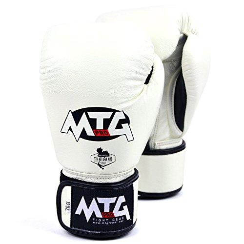 MTG Pro Pink Velcro Boxing Gloves