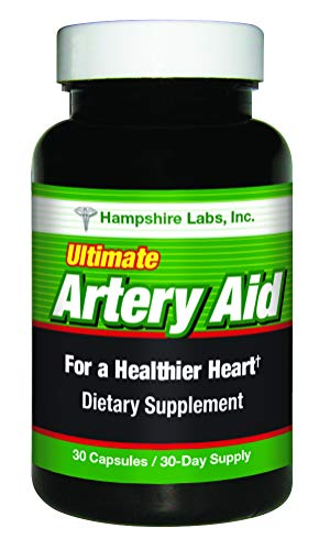 Ultimate Artery Aid Supplement for Heart Health Support, addresses Poor Circulation and Targets clogged Arteries Throughout The Body. Helps Remove toxins and Supports Clean and Supple Arteries. (1)