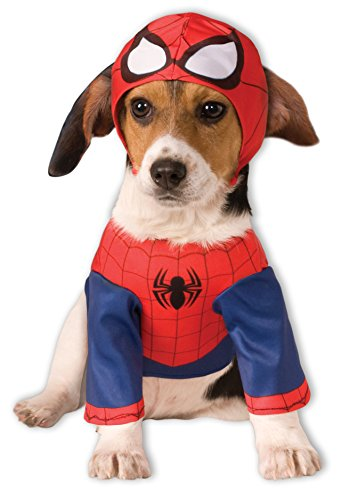 [Rubies Costume Marvel Spider-Man Pet Costume, XX-Large] (Pet Spiderman Costumes)