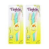 Tinkle Eyebrow Razor, 2 PACKS