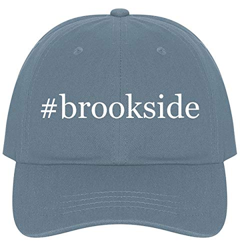 The Town Butler #Brookside - A Nice Comfortable Adjustable Hashtag Dad Hat Cap, Light Blue, One - Storkcraft Ball