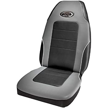 R Racing Stage III Gray Vinyl Seat Cover