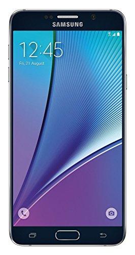 (Samsung Galaxy Note 5 32GB N920P Sprint - Sapphire Black (Renewed))
