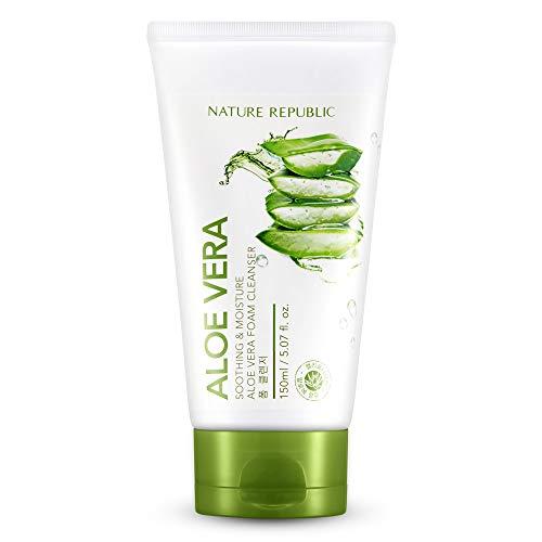 Nature Republic Soothing & Moisture Aloe Vera Foam Cleanser 150 ml / 5.07 fl. oz.