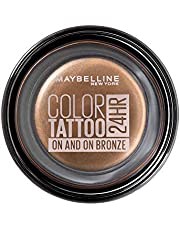 Maybelline Color Tattoo 24HR Cream Gel Eyeshadow, On and On Bronze