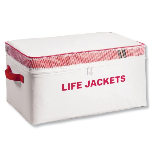 Life Jacket Storage Bag, Holds 4 Adult Type...