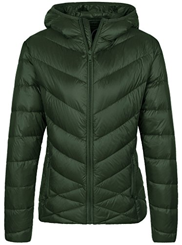 Down Jacket Green - 1