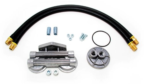 Trans-Dapt 1213 Oil Filter Relocation Kit (Remote Oil Filter Kit)