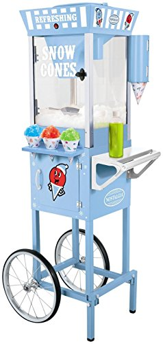 082677242204 - Nostalgia SCC200 53-Inch Tall Vintage Collection Snow Cone Cart carousel main 0