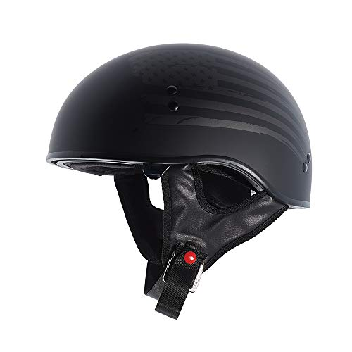 TORC T55 Spec-Op Adult Half Helmet with 'Flag