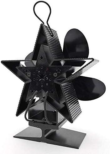 XMAGG Thermoelektrischer Ventilator für Kamin Holzöfen Öfen, Umweltfreundlich Wärmeleistung Ofenventilator Ohne Strom - 4 Lüfter Blade Wärmebetriebene Lüfter Stromloser Ventilator