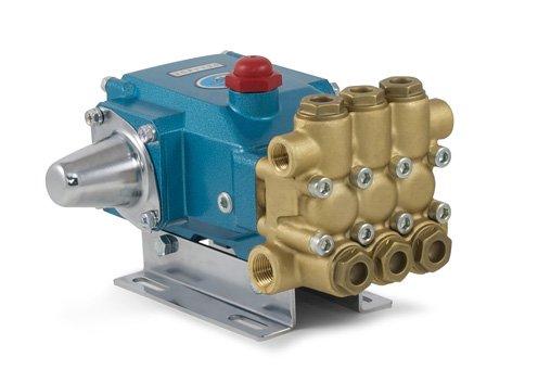 Cat Pumps 3CP1140-3CP1140-3CP Plunger Pump - 3.6 gpm, 2200 psi, 1725 rpm, Direct-Drive, Brass