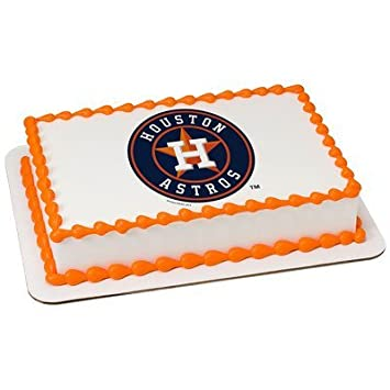 Houston Astros Licensed Edible Cake Topper 34931