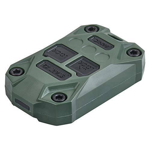 AJT DESIGN Injection Fob Case (Jeep Wrangler JK) Army Green
