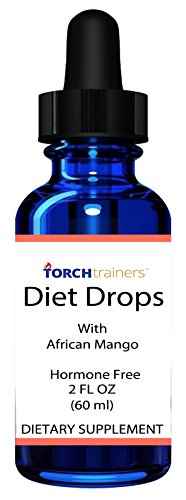 Torch Trainers Diet Drops Ultra Drops, Hormone Free With African Mango - 2oz(60ml) ()