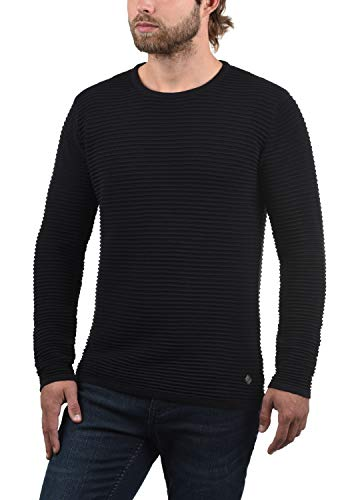 Black Maille Homme Bibo Pull solid 9000 En nbsp; YCwpqHHvx