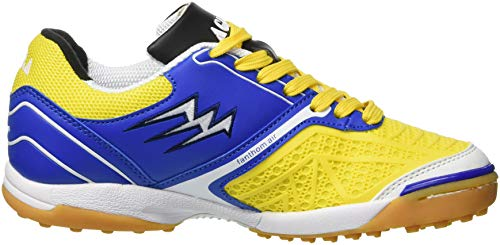 3 28 5 Zapatos Agla Azul De Fanthom amarillo Neón Outdoor Futsal nbsp;cm 44 8g7fz7qw