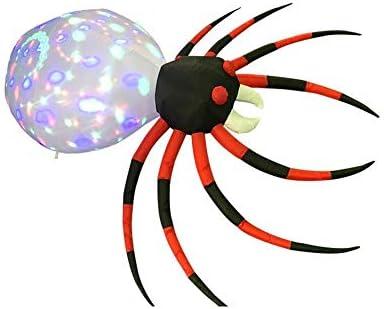 LED Lichtervorhang Lichter Lichterketten, 2.4M Weihnachten Aufblasbare Spinne Lichter, Farbe LED-Leuchten For Die Innen- Und Außendekoration, Denn Weihnachtsbeleuchtung Auf Hof/Terrasse/Garten