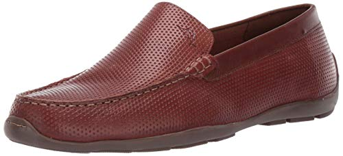 (Tommy Bahama Men's Orion Wide Driving Style Loafer, Dark Brown Perforated, 10 W US)