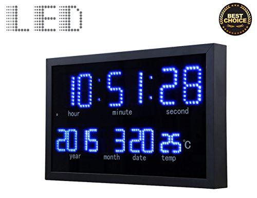 Large Clock Calendar Display Month