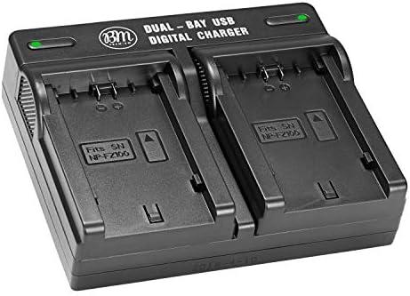 Amazon.com: Bm Premium np-fz100 Dual Cargador de batería ...
