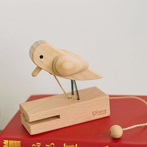 Vintage, Rustic DIY Wooden Door Knocker, Woodpecker, Playhouse Treehouse Classic Doorbell with Pull Cord