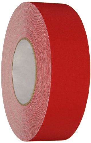 Polyken Vinyl Coated Cloth Premium Gaffer's Tape, 11.5 mil Thick, 50m Length, 48mm Width, Red