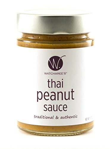 Watcharee's Thai Peanut Sauce, 11.75 Oz Jar (Peanut Satay Sauce compare prices)