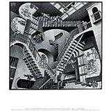 Relativity Art Poster Print by M. C. Escher, 14x11 Fine Art Poster Print by M. C. Escher, 14x11